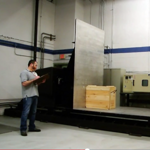 ISTA-ASTM - Impact Test with Crate