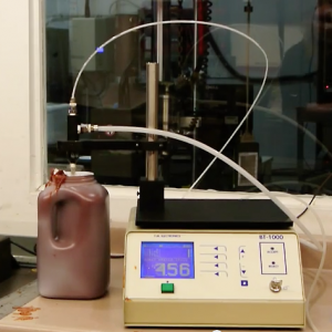 Materials Testing - BT Puncture Test of Heavy Gauge 1 gallon Bottle Seal