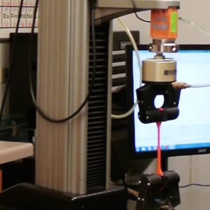 Materials Testing - High Elongation Tensile Test
